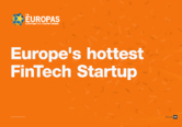 FintechOS is this year's hottest fintech startup in Europe, according to reputed tech founders, investors and journalists
